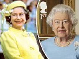 how the queen's life has been commemorated in stamps