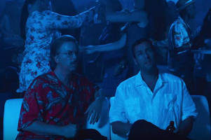 adam sandler takes david spade under his crazy wing in nsfw trailer for the do-over