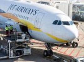 jet airways flight delayed after note with 'bomb' written on it is found