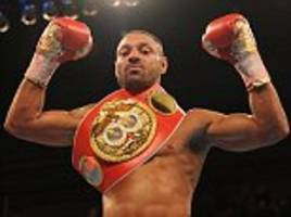 kell brook hasn't turned down a crack at miguel cotto... we would walk to the us to make it happen but he wants an easier fight