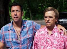 threesome, explosions pop up in adam sandler's 'the do-over' red band trailer