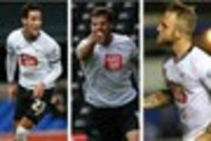 Talking point: Derby County trio look in confident mood ahead of...
