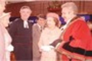 Pictures from when The Queen opened Tamworth shopping centre