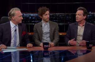 author calls begin 'terrorist' with 'political courage' on bill maher show