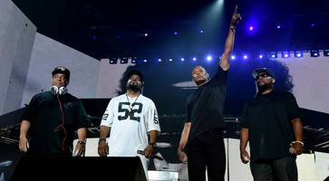 coachella 2016: dr. dre completes n.w.a. reunion, ice cube brings out kendrick lamar