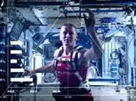 Tim Peake smashes the Guinness World Record for a space marathon