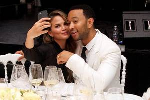 Chrissy Teigen attacked for going out to dinner without baby