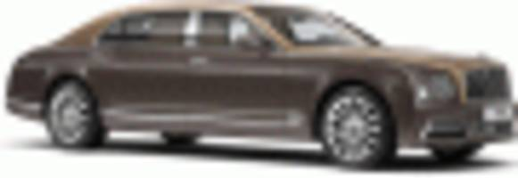 2017 Bentley Mulsanne First Edition debuts at 2016 Beijing Auto Show