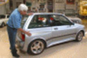 jay leno tests out the wild ford festiva-based shogun