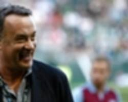 tom hanks: i put £100 on leicester at start of the season!