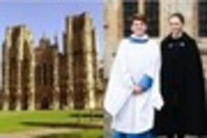 wells cathedral's head girl chorister selected to sing at st...