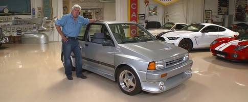 jay leno showcases his insane 1989 ford shogun - a forgotten sleeper