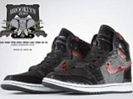 jay z and lebron james among stars with pair of customised animal skin shoes