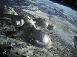Europe's 'moon village' is just the start: Space agency boss says the lunar base will be the first step to exploring the universe