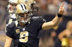drew brees: pace of contract talks not hurting saints