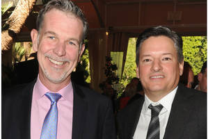netflix ceo reed hastings' 2015 pay grows 50 percent, ted sarandos' rises even more
