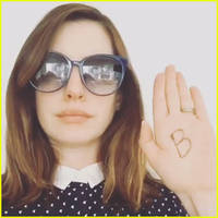 anne hathaway posts video review of beyonce's 'lemonade' - watch now!