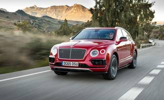 """Because 600 hp Is Not Enough: Bentley Bentayga """"Speed"""" All But Assured"""