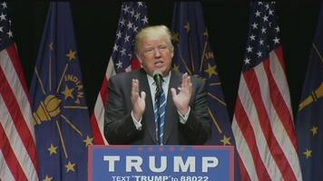 Donald Trump holds rally in Evansville
