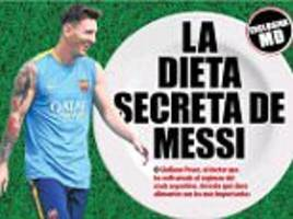 lionel messi's nutritionist reveals diet that makes barcelona star the world's best