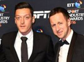 mesut ozil and john terry among guests at star-studded sports industry awards bash