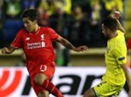Villarreal 1-0 Liverpool PLAYER RATINGS: Eric Bailly shows his worth but Roberto Firmino fails to convince as a false nine