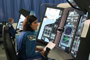 NASA now uses giant touchscreens to teach astronauts how to fly to space