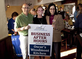 Oscar's Woodmont Kitchen Hosts Business After Hours in Milford