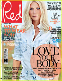 gwyneth paltrow opens up about her divorce, turning 40, & more in 'red'
