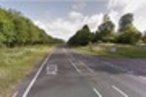A338 closed near Ringwood following serious accident