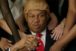 Watch the hilarious debut music video from Daily Show character Black Trump