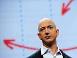 Amazon's Jeff Bezos earns $6 BILLION in 20 minutes as shares prices soar following the firm's record sales