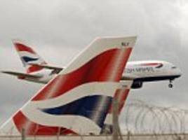how ba was grounded by high-fliers: airline shares fall more than 5% after business trip cutbacks