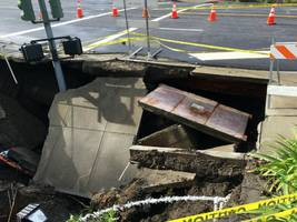 8 straight days of rain caused moraga sinkhole: officials