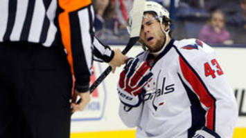 Capitals' Wilson fined for knee on Penguins' Sheary