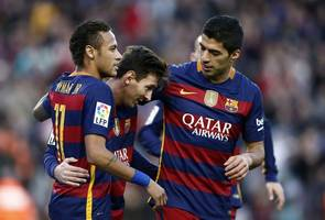 Football: Barca await Real, Atletico Champions League hangover