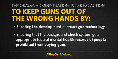 an update on what we're doing to keep guns out of the wrong hands