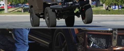 G65 AMG vs Icon FJ44 Comparison Features Jokes, Crashes, Dyno and Beverly Hills
