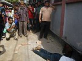 Hindu man hacked to death on the streets of Bangladesh by two men on motorcycles after he 'criticised the prophet Mohammed'