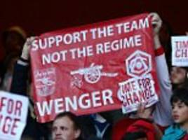 Arsenal fans' protest in narrow Norwich win was vastly underwhelming... significantly more people backed Arsene Wenger