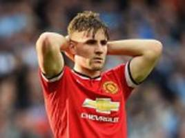 luke shaw aiming to return  for manchester united before end of the season