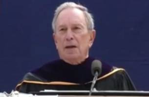 Michael Bloomberg Denounces 'Safe Spaces' in University Commencement Speech