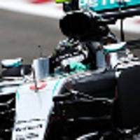 rosberg on pole as hamilton hits trouble