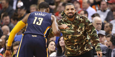 drake performs outside toronto raptors game for fans: watch