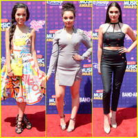 Jenna Ortega Brings Her 'Stuck in the Middle' Family to RDMA 2016