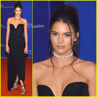 Kendall Jenner Is Chic & Sleek at WHCD 2016
