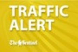 UPDATE: Police blame hailstorm for five vehicle collision on A50...