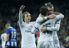football: bale winner puts madrid on top of la liga