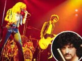 Rock monsters: Drummer reveals that Led Zeppelin's infamous 'Mud Shark' groupie sex incident DID happen and claims it was more depraved than anyone ever realized