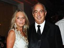 tina green set to face questions from mps about the collapse of bhs alongside billionaire husband sir philip